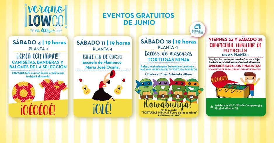 Eventos Junio